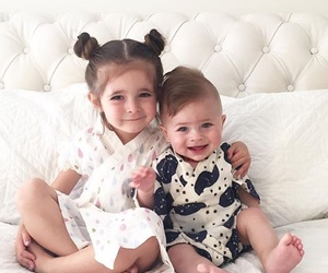 baby, baby girl, and kids fashion image