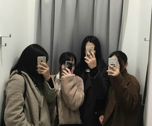 iphone, korean, and mirror image