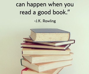 book, quotes, and jk rowling image