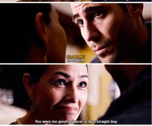 beautiful, crying, and tv show image