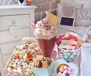 food, yummy, and bedroom image