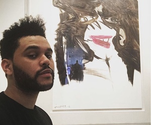 art and the weeknd image
