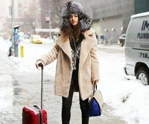 coat, luxury, and fashion image