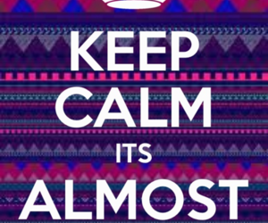 summer, keep calm, and quote image