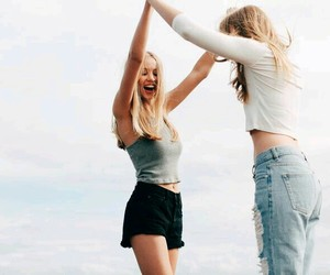 friends, best friends, and girls image