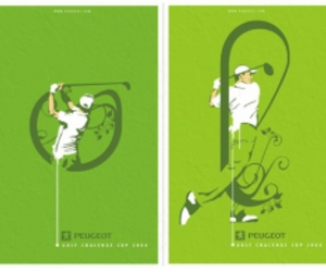 golf, poster, and dslab image