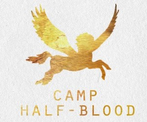 percy jackson, camp half blood, and book image