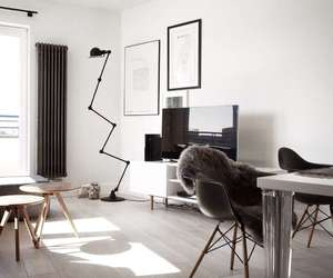 interior, design, and white image