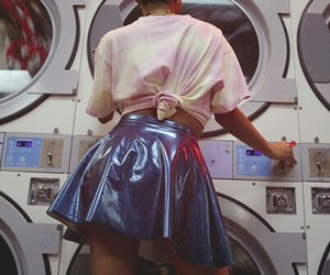 girl, retro, and aesthetic image