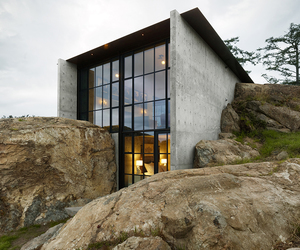 house, architecture, and rock image