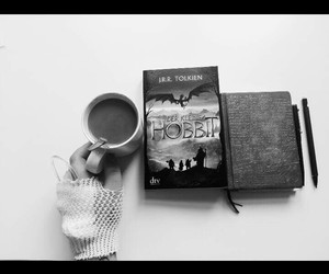 black, book, and drink image