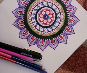 art, mandala, and creativity image