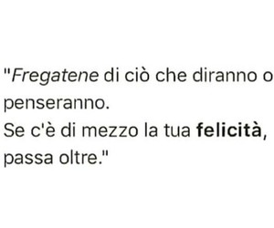 frasi, italiano, and felicità image
