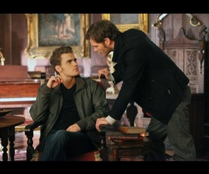 actors, paul wesley, and the vampire diaries image