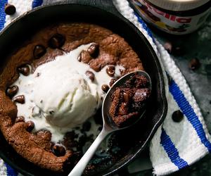 cookie, ice cream, and dessert image