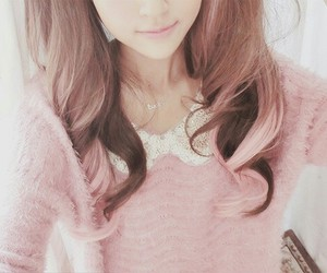 kfashion, cute, and korean image