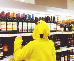 drink and pikachu image