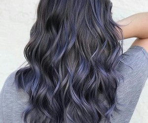 goals, hair, and ombre image