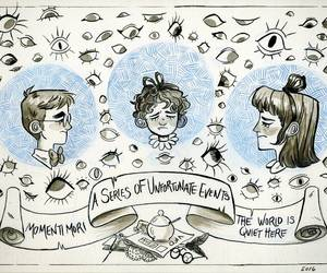A Series of Unfortunate Events, Violet Baudelaire, and klaus baudelaire image