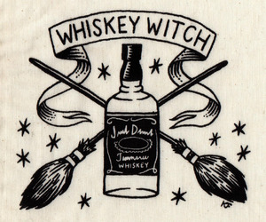 witch and whiskey image