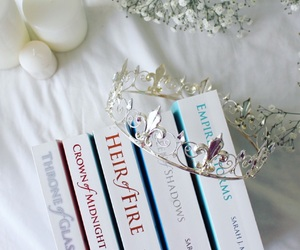 books, bookworm, and crown image