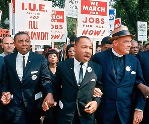 civil rights, martin luther king, and MLK image