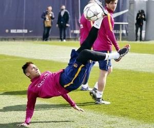 Barcelona, training, and neymar jr image