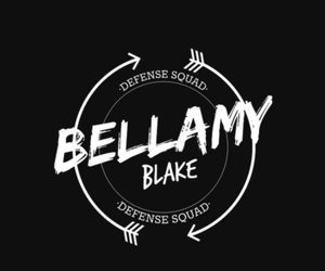 the 100, bellamy blake, and wallpaper image