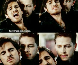 hook, once upon a time, and prince charming image