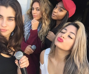 fifth harmony, lauren jauregui, and dinah jane image