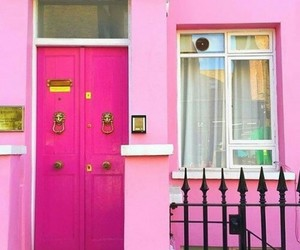 pink, pink door, and pinks image