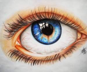 amazing, drawing, and eye image