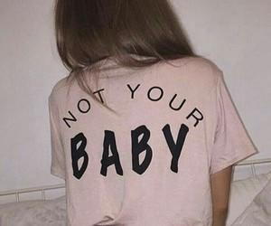 pink, girl, and baby image