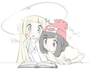 anime, lillie, and pokemon image