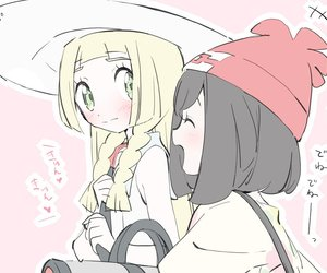 anime, friendship, and lillie image