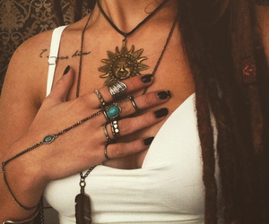 accessories, indie, and jewelry image