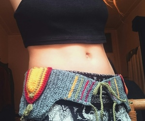 bohemian, hippie, and work out image