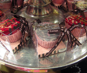 juicy couture, cupcake, and pink image
