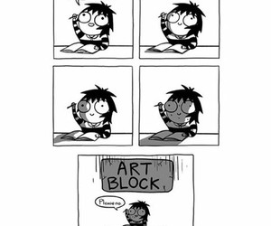 drawing, art comic, and funny image