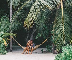 travel, beach, and couple image
