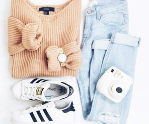 adidas, instax, and outfits image