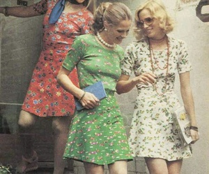 60s, 70s, and girl image