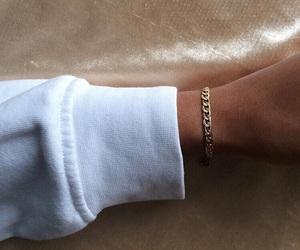 bracelet, style, and white image