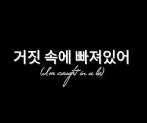 kpop, lie, and lyric image