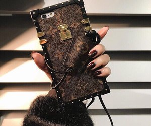 Louis Vuitton, case, and iphone image