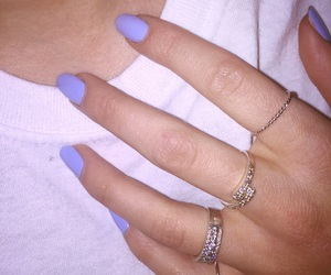 blue, rings, and jewelry image
