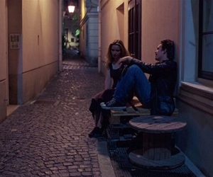 before sunrise, alternative, and couple image