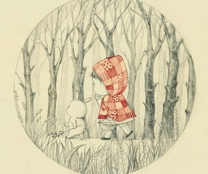 red riding hood and cute image