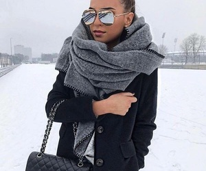fashion, chanel, and snow image