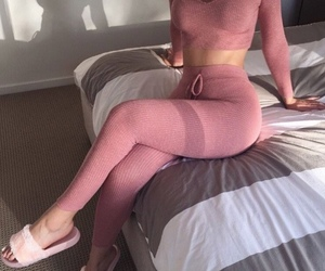 body, mauve, and outfit image